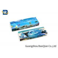 China Customized PET 3D Lenticular Ruler Stationery , Lenticular Printing Service on sale