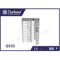 Quality CE Approved Full Height Turnstile Revolving Door 30 Persons / Min Transit Speed wholesale