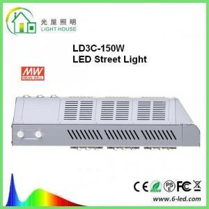 Quality Customized DLC 150w Led Street Light 8 Years Warranty PF>0.98 wholesale