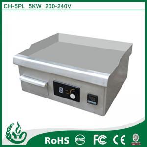 China Chuhe 5kw Induction cast iron griddle on sale