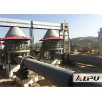 Quality 600 - 1000tpd Active Lime Rotary Kiln For Dolomite Calcination Dry And Wet Type wholesale