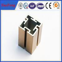Buy cheap 6000 Series aluminium extruded profile slot / OEM t slot aluminum extrusion from wholesalers
