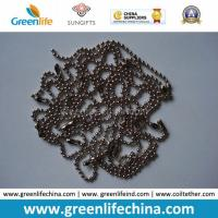 China Chinese Manufacturer Supply 1.0mm-12mm Beaded Ball Shape Metal Chain on sale