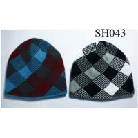 Quality men's jacquard hat good style and high quality SH043 adults hats wholesale