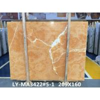 Buy cheap Orange Onyx Tile And Slab Marble Style Tiles For Luxury Building Interior from wholesalers
