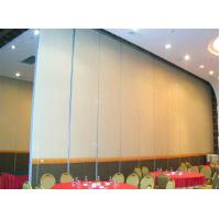 Quality Sliding Door Track Rollers Commercial Movable Partition Wall Acoustic Fabric Surface wholesale