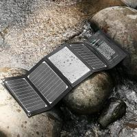 Quality MP4 / Tablet Sunpower 20W Solar Panel Charger High Conversion Efficiency wholesale