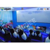 Quality Mobile Seating Chairs 5D Cinema System Spray Air / Spray Water 5D Motion Simulator wholesale