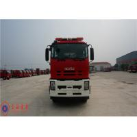 Quality 6x4 Drive Foam Rescue Fire Truck 257KW Power With Double Row Structure Cab wholesale