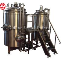 China 300L 500L 700L Craft Beer Equipment , Microbrewery Machine Stainless Steel 304 on sale