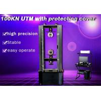 Quality Machanical Uniaxial universal Testing Machine Of Steel Crosshead Limit Moving Space Protection wholesale