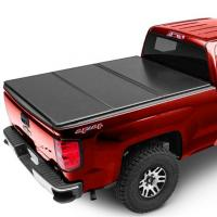 China Black Color Aluminum Hard Folding Tonneau Cover For D- MAX 2013 4 Doors on sale
