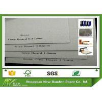 Buy cheap Anti - Curl Gray Paperboard Laminated Cardboard Paper 2mm 1200gsm Thickness product