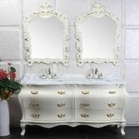 Quality Bathroom Cabinet with Stainless Steel and Soft Close Drawer Sliding wholesale