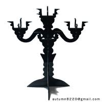 Quality CH (16) clear fake glass candelabra wholesale