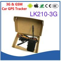 Cheap 3G WCDMA & Quad-Band GSM Car Vehicle GPS Tracker LK210-3G Cut-off Oil & Power remotely by SMS & Free PC/APP Tracking for sale
