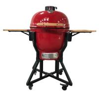 Quality wholesale hibachi charcoal camping grill outdoor kitchen ceramic egg bbq grill  rotisserie kamado wholesale