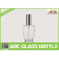 Quality Perfume Use And Screw Sealing Type Empty Clear Glass Bottle wholesale