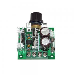 China 2V24V30V40V Pulse Width Modulator PWM DC Motor Speed Control Switch Speed Governor on sale