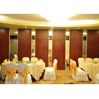 Quality Conference Room Sound Proof Partitions Wall Paper Partition For Banquet Hall wholesale