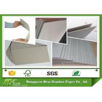 Buy cheap 2mm 1200 Gsm Thickness Gray Paperboard Stocklot Stiff Cardboard Paper Sheets product