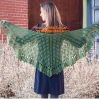 Quality Lady's Crochet Knitted Shawl,Hand Knitted Shawl ,Women Poncho, Free Knitting Crochet Woman wholesale