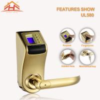 Quality Anti Scratch Fingerprint Lock Low Voltage Warning For Apartment wholesale