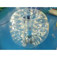 Quality 0.7mm Clear TPU Kids Bumper Ball, Inflatable Body Zorb Ball For Fun wholesale