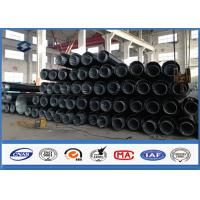 Quality 69KV 70FT Hot dip Galvanized Power Transmission Pole Polygonal Dodecagonal wholesale