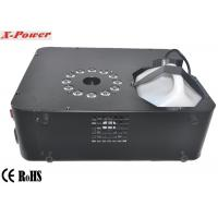 Quality 1500 Watt Professional LED Up Fog Machine DMX512 Smoke Machine With 12 * 3W RGB LED    X-01 wholesale