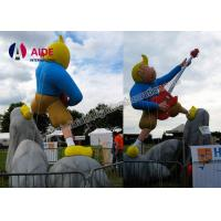 Quality Guitar Boy Shape Inflatable Cartoon Characters Inflatable Party Decorations wholesale