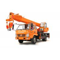 Quality T.King 10 -12 Ton Hydraulic Truck Crane With 4 Outrigger Telescopic Boom 26M - 36M wholesale
