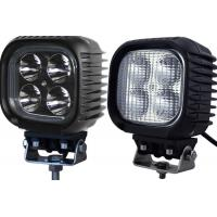 China Car Driving 4x4 40w Led Work Light 12v Waterproof 5 Inch Off Road Auxiliary Lights on sale