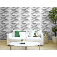 Cheap Fashion Modern Textured 3D Wall Decor Panels / 3 Dimensional Wallpaper Heat for sale