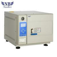Quality Pulse Vacuum Steam Sterilizer 105-134C Adjustment  LCD Display Working Status wholesale
