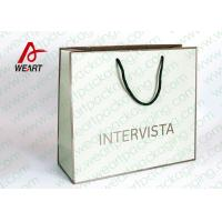 Quality Handmade Custom Color Print Shopping Recycle Paper Bag with Handle , UV Finishing wholesale