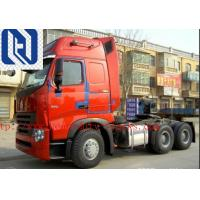 China 40 Ton Prime Mover Truck , Howo A7 Cabin Sinotruk 420hp 6x4 Tractor Head Truck on sale