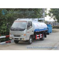 Cheap T-king 4x2 Mini Fecal Suction Truck Vacuum Sewage Suction Truck 1000 Gallons for sale