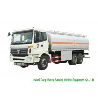 Quality FOTON 6x4 Refueling Diesel Fuel Transfer Tank Truck 23CBM Capacity High Stable wholesale