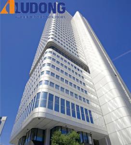 China PVDF Coating 1220*2440mm Exterior Decorative Wall Panels Rustproof on sale
