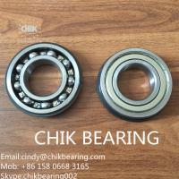 Buy cheap 6201&6202 open,zz, Rs, 2RS. 2z red/black sealed chrome steel deep groove ball bearing for ceiling fan product