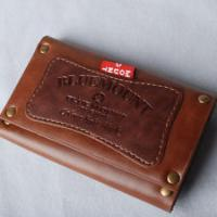 China 2012 simple design leather wallet Lady's Business leather wallet on sale