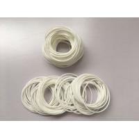 China Food Safe FDA White Rubber O Rings For Cylindrical Surface Static Sealing on sale