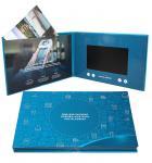 Quality Digital Promotional LCD Video Brochure Card / Custom Video Brochure 7 Inch Tft Screen wholesale
