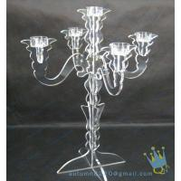 Buy cheap CH (7) Acrylic hurricane candle holders from wholesalers
