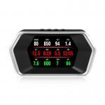 Quality New P17 OBD2 GPS Car Smart Digital Meter OBD2 Gauge Trip Computer HUD Auto Diagnostic Tool wholesale