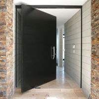 Quality Exterior Solid Wood Doors Customized Size Single Door Slab Contemporary Modern Style wholesale