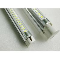 Quality 700lm 24V Led Tube Light Fixtures T5 2ft 549mm 7W with Transparent Striped Fosted Cover wholesale