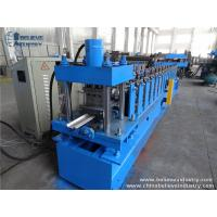 Quality 7.5KW Roller Shutter Door Roll Forming Machine , Hydraulic Cutting Cold Roll Former wholesale