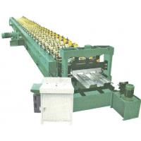 China Russia hot sale H60 automatic metal floor decking roll forming machine on sale